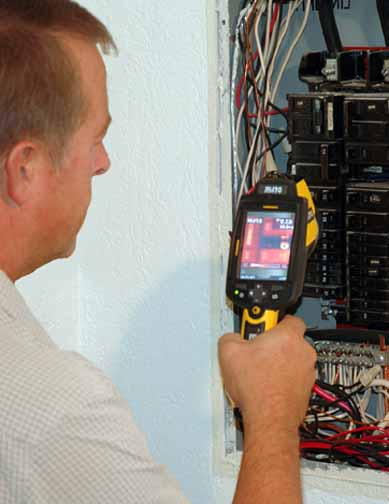 home inspector seattle, infrared inspection